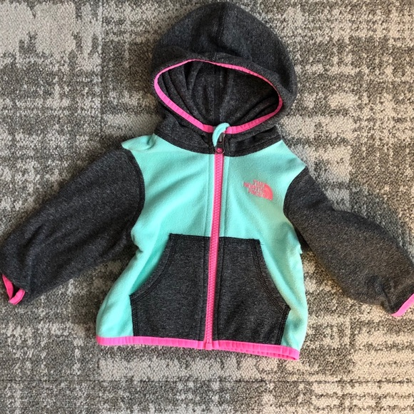 The North Face Other - Baby girl North Face fleece jacket 3-6M